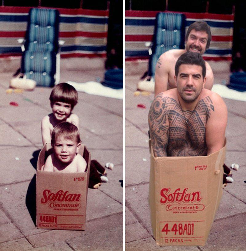 Μερικά τατουάζ και αρκετά χρόνια αργότερα...