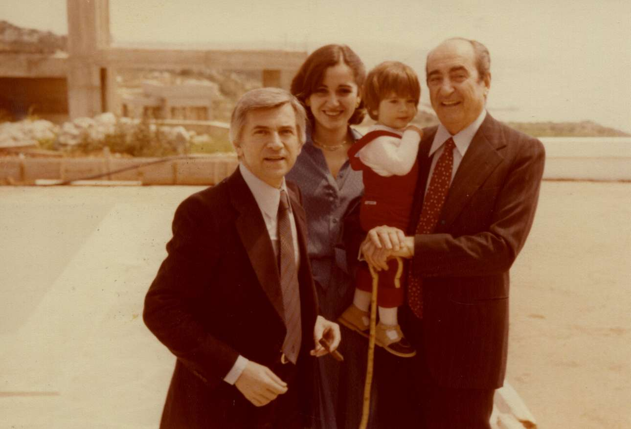 Με τον Παύλο Μπακογιάννη, την Ντόρα και τον Κώστα