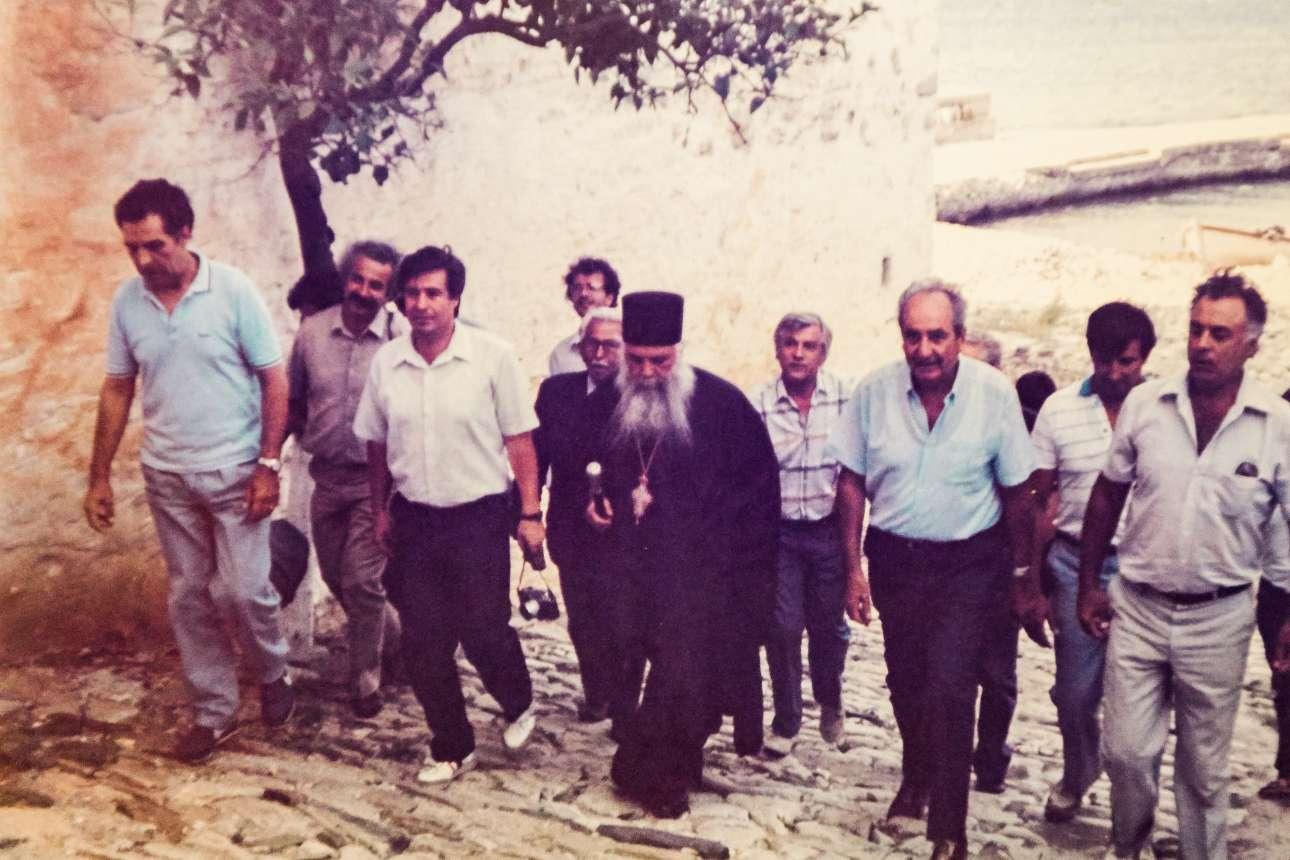 Δεκαετία του 1980. Επίσκεψη στο Αγιον Ορος