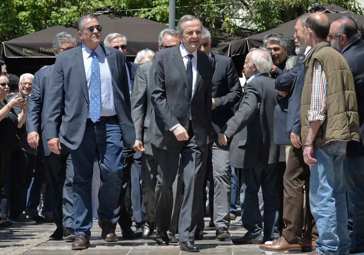 Ο τέως Πρωθυπουργός, Αντώνης Σαμαράς