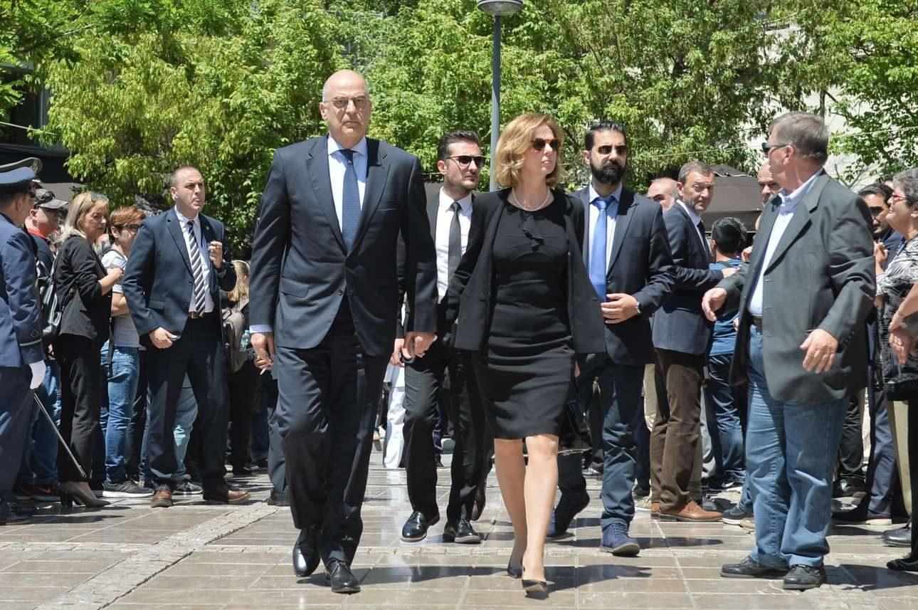 Ο κοινοβουλευτικός εκπρόσωπος της ΝΔ και πρώην υπουργός, Νίκος Δένδιας