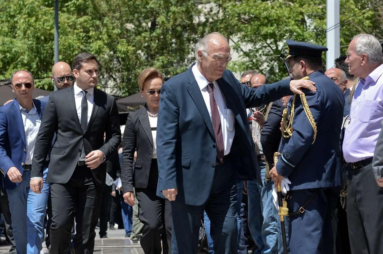 Ο πρόεδρος της Ενωσης Κεντρώων, Βασίλης Λεβέντης