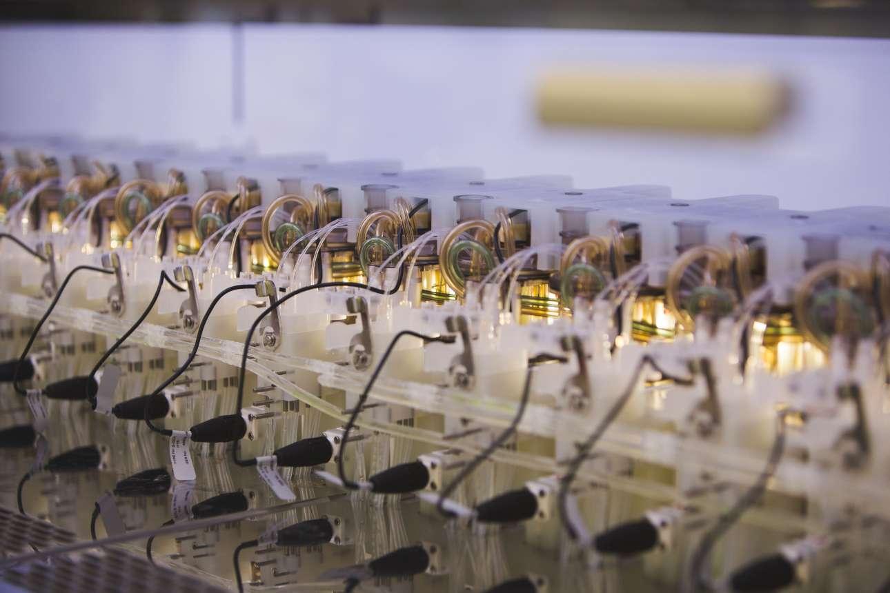 To μηχάνημα στο οποίο δημιουργούνται οι μικροοργανισμοί