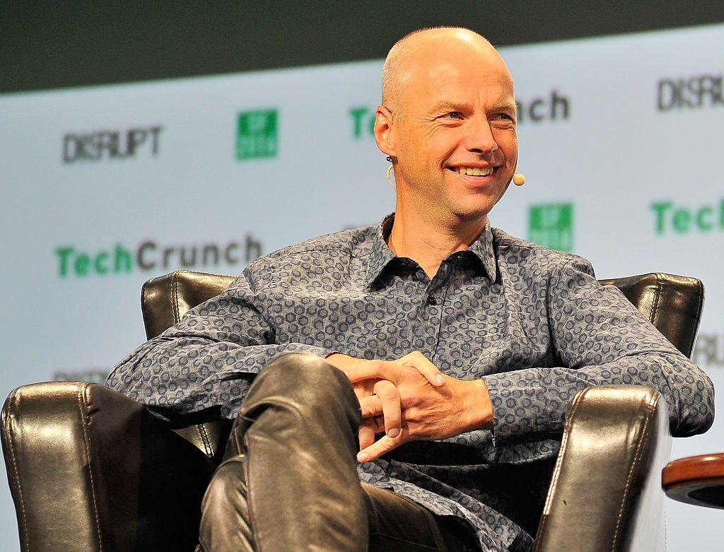 Ο Σεμπάστιαν Θρουν καθηγητής του πανεπιστημίου Στάνφορντ και διευθύνων σύμβουλος της Udacity σε ομιλία του στο Σαν Φρανσίσκο στις 13 Σεπτεμβρίου 2016 (Steve Jennings/Getty Images for TechCrunch/Ideal Images)