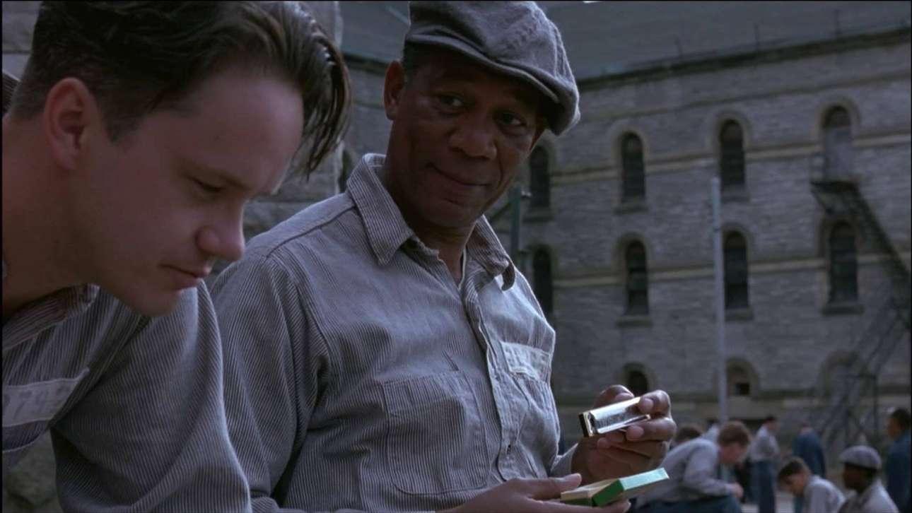 Με τον Τιμ Ρόμπινς στο «Shawshank Redemption» («Τελευταία Εξοδος: Ρίτα Χέιγουορθ») που το 1994 ανέδειξε τον Φρίμαν σε αστέρα πρώτου μεγέθους