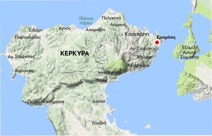 Corfu-Kasiopi_map