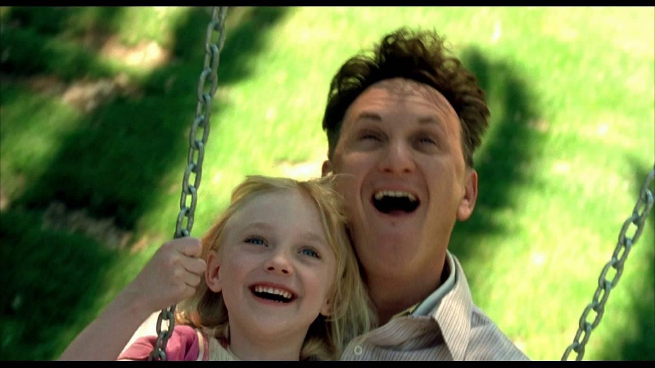 O Σον Πεν και η Ντακότα Φάνινγκ, ως Σαμ Ντόουσον και Λούσι Ντόοουσον στο «Ονομά μου Είναι Σαμ» (2001) της Τζέσι Νέλσον