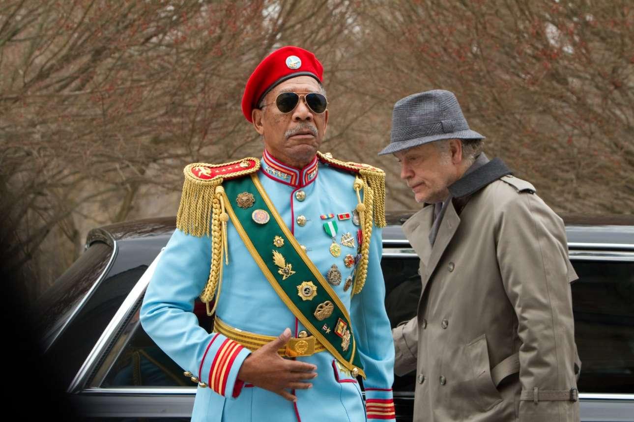 Με τον Τζον Μάλκοβιτς στην κωμική περιπέτεια «Red» (2010)