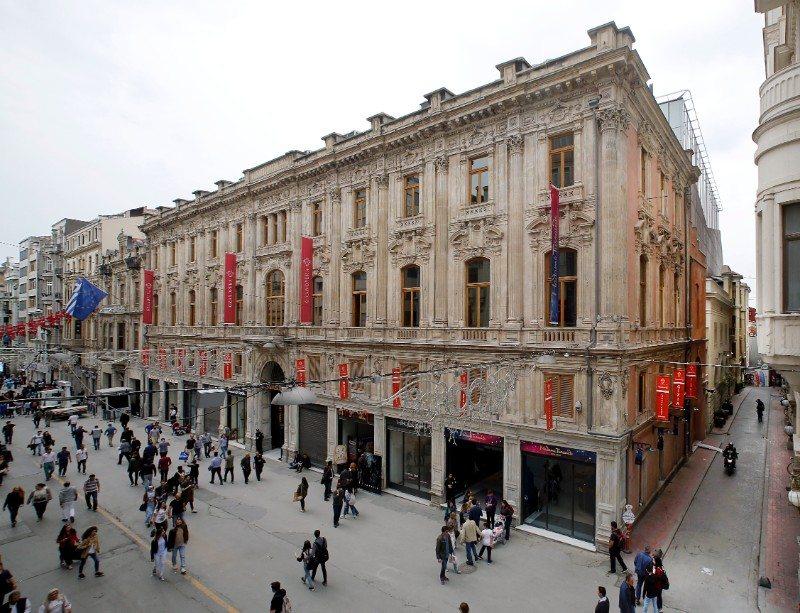 11 RMJM Istanbul, Grand Pera, Istanbul, Turkey