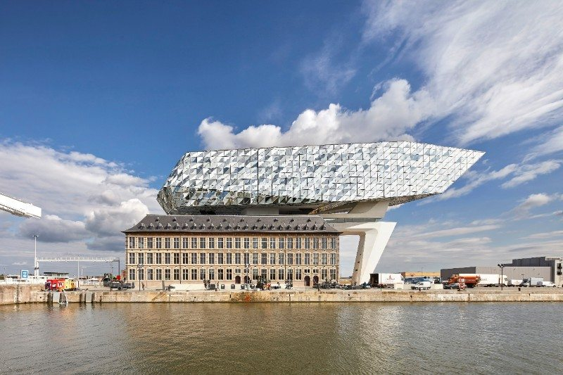 12 Zaha Hadid Architects, Port House, Antwerp, Belgium