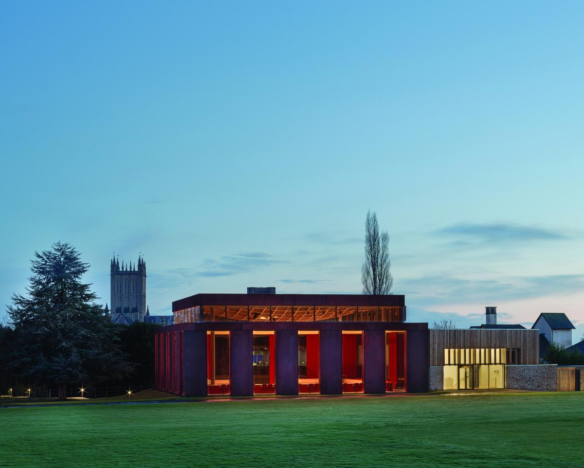 13 Eric Parry Architects , New Music Facilites, Wells, United Kingdom