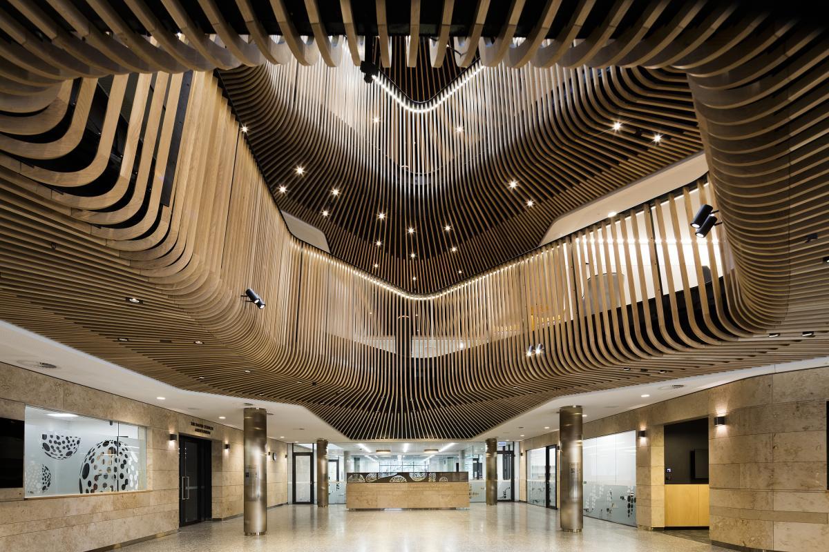 14 Cox Architecture, Sir Zelman Cowen Centre for Science, Hawthorn, Australia