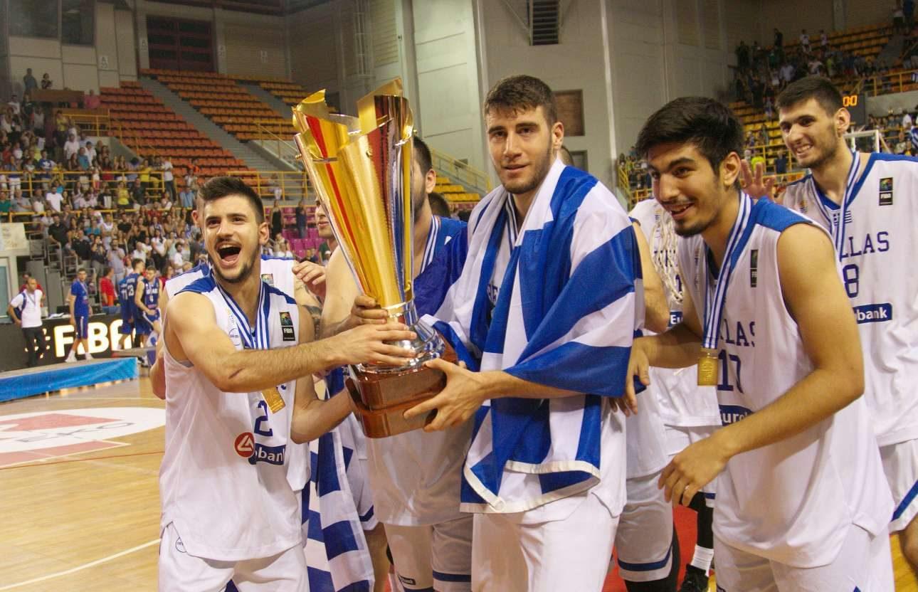 Ασημοι στην Ελλάδα, αλλά χρυσοί οι νεαροί παίκτες της θριαμβεύτριας Εθνικής