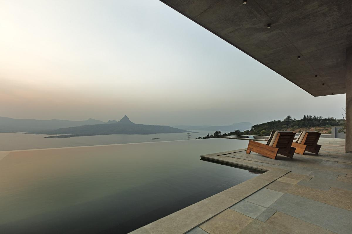 18 Khosla Associates, Retreat in the Sahyadris, Pawna, India