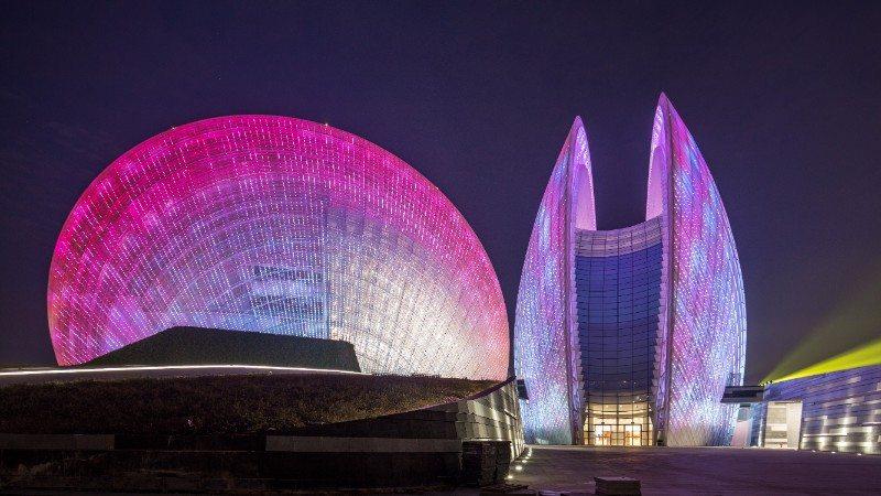 5 CR Institute of Architectural & Urban Design, Zhuhai Opera House, Zhuhai, China