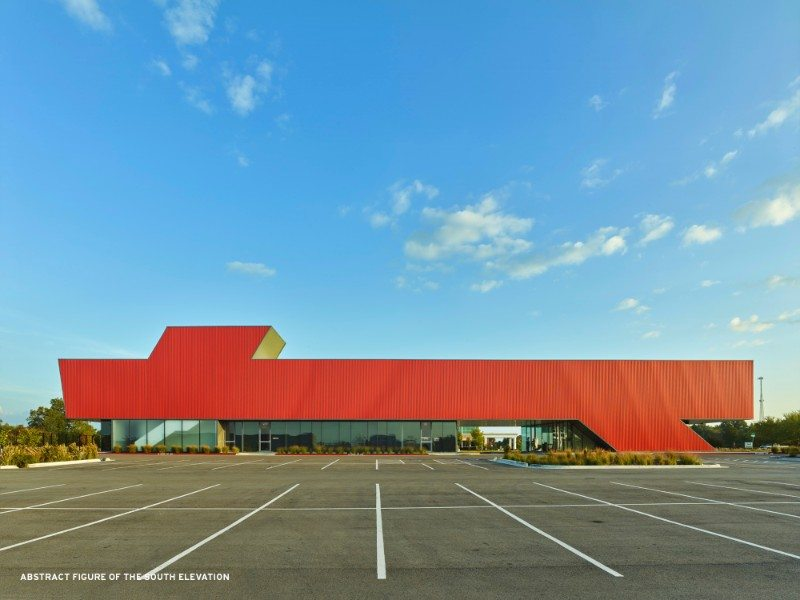 7 Marlon Blackwell Architects, Harvey Pediatric Clinic, Rogers, United States of America