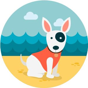 Dog_Icon_beach