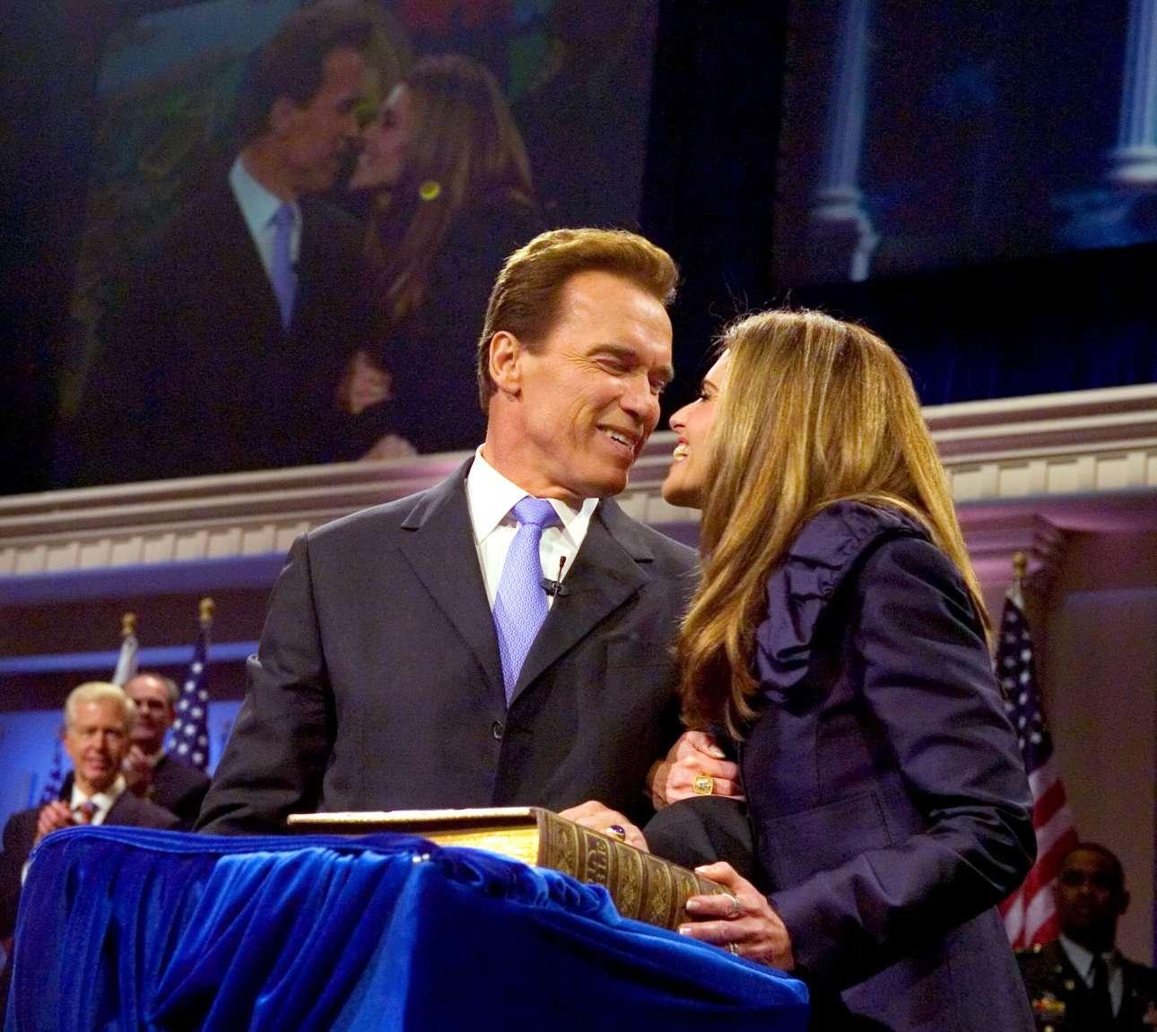Δεκέμβριος 2007. Ο Αρνολντ Σβαρτσενέγκερ επανεκλέγεται κυβερνήτης της πιο μεγάλης πολιτείας των ΗΠΑ. Θυμίζει σενάριο ταινίας, αλλά είναι πραγματικότητα