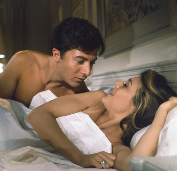 """The Graduate"" Dustin Hoffman, Anne Bancroft 1967 UA / Embassy ** I.V."