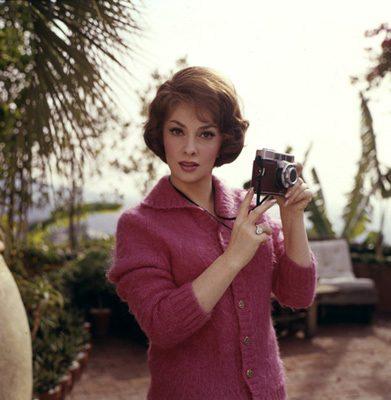 Gina Lollobrigida circa 1960s © 1978 Leo Fuchs