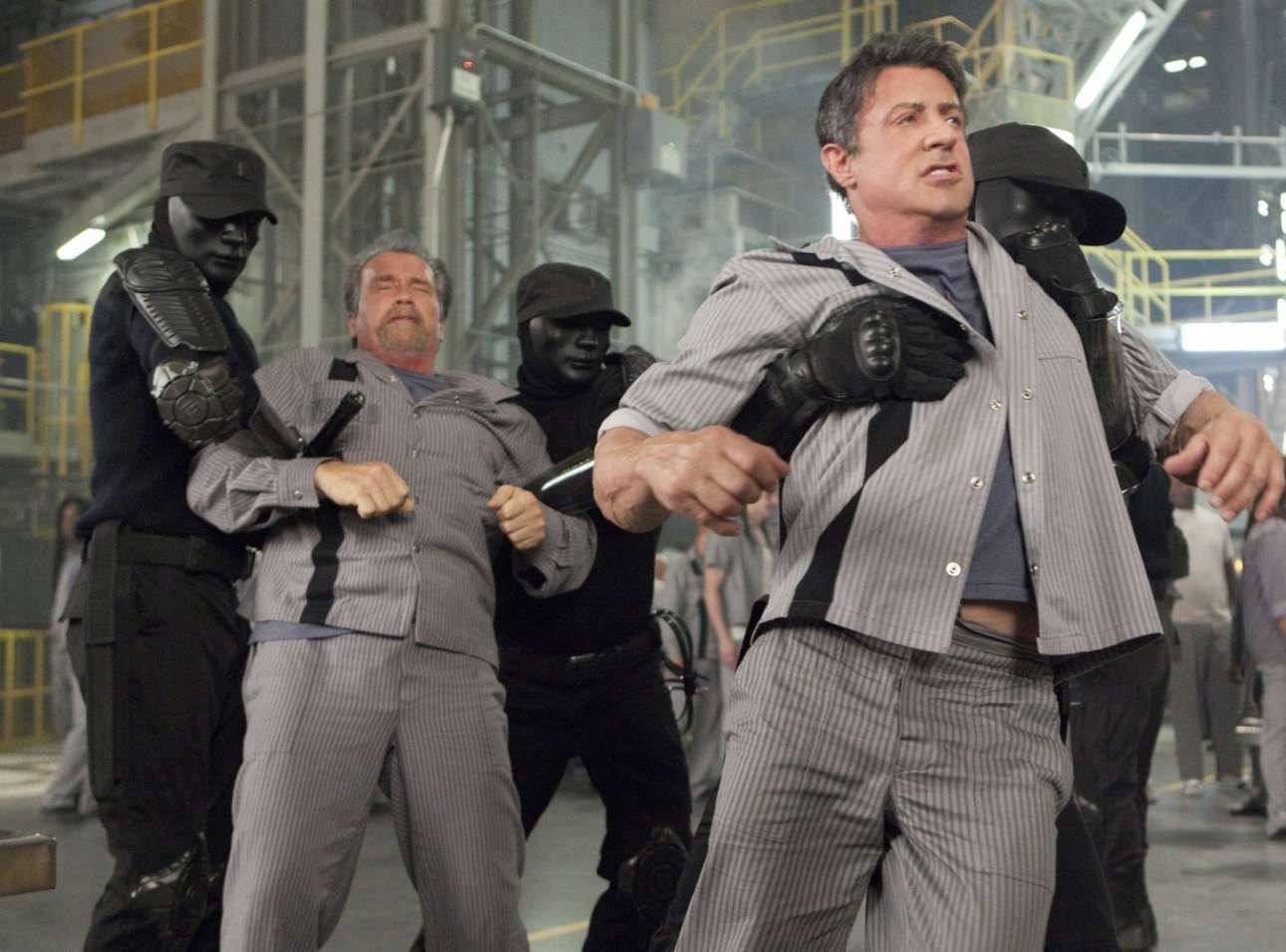 Πάλι με τον Σταλόνε σε μια ακόμα μέτρια ταινία δράσης. Το «Escape Plan» το 2013