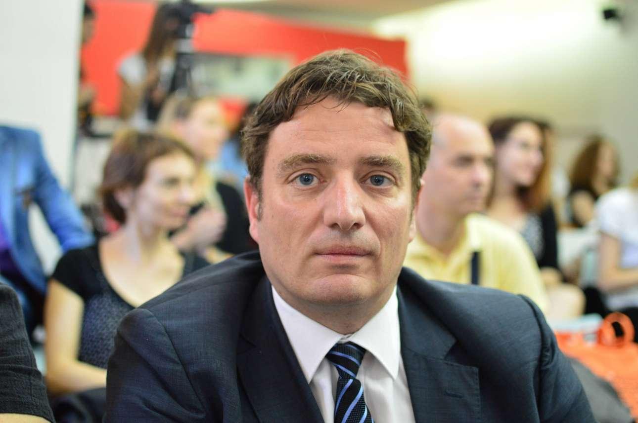 Ο Νίκος Παναγιώτου, επίκουρος καθηγητής του ΑΠΘ, στο τμήμα Δημοσιογραφίας και ΜΜΕ