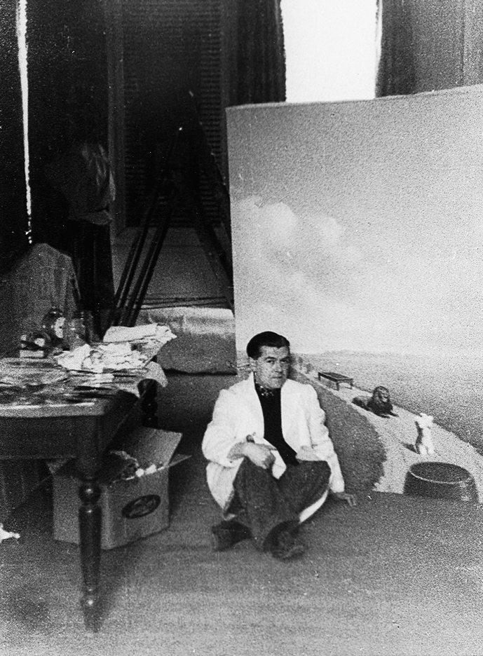 10_René Magritte_René Magritte painting Youth Illustrated (La jeunesse illustrée)