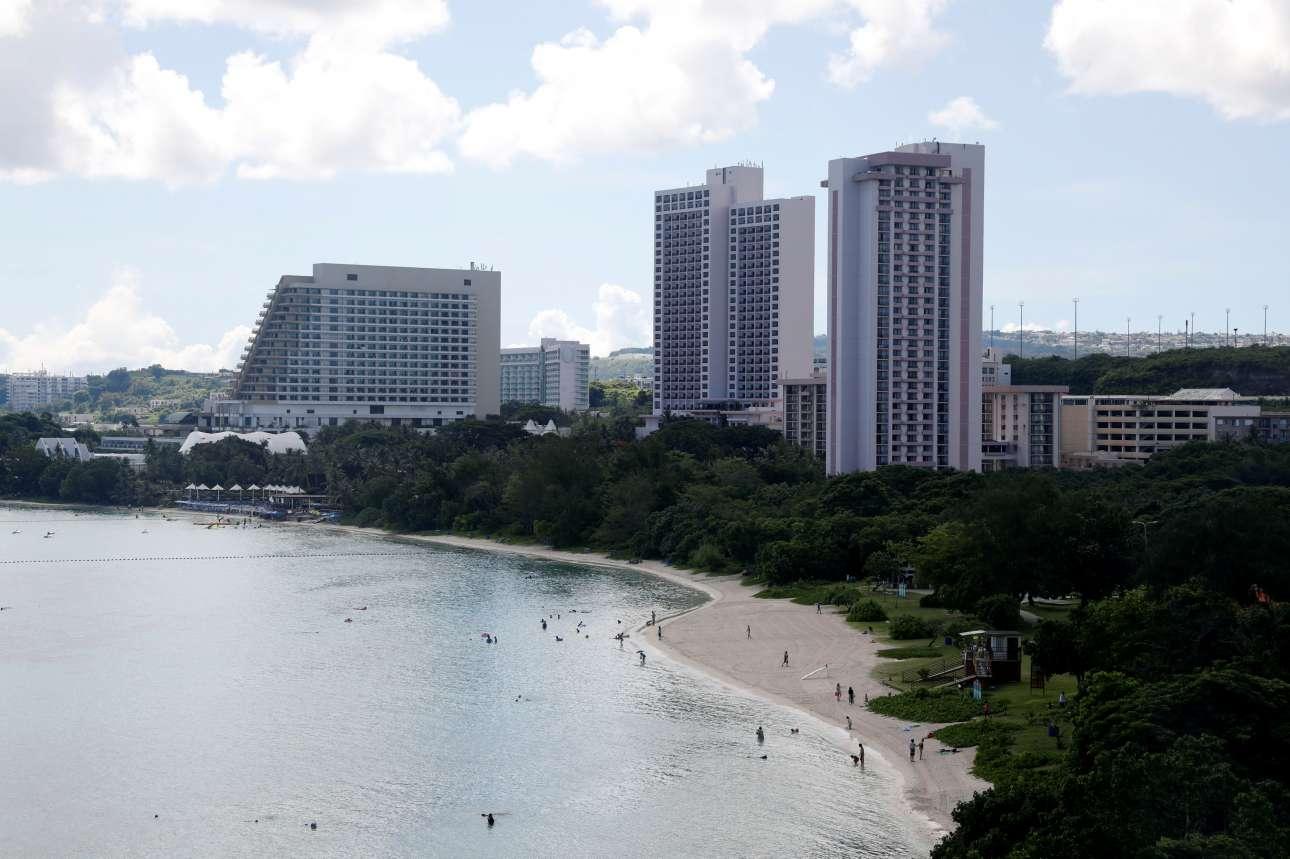 Αν και στην μέση του ωκεανού, το Γκουάμ έχει ανεπτυγμένη τουριστική βιομηχανία