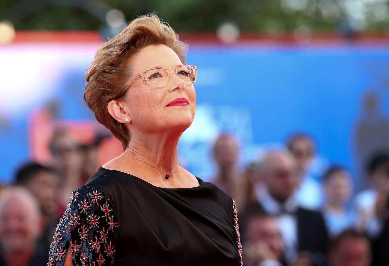 Η πρόεδρος της κριτικής επιτροπής Ανετ Μπένινγκ. Η αμερικανίδα ηθοποιός είναι η πρώτη γυναίκα πρόεδρος μετά την Κατρίν Ντενέβ το 2006