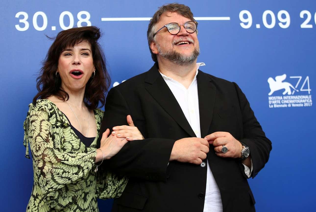 Ο σκηνοθέτης Γκιγιέρμο Ντελ Τόρο και η βρετανίδα ηθοποιός  Σάλι Χόκινς στο Φεστιβάλ για να παρουσιάσουν τη νέα τους ταινία το «Σχήμα του Νερού» (The shape of water)