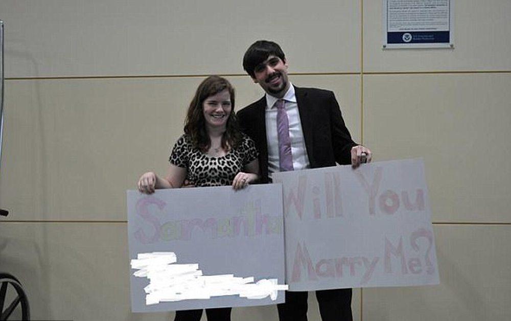 Και άλλη πρόταση γάμου, γραπτή αυτή τη φορά