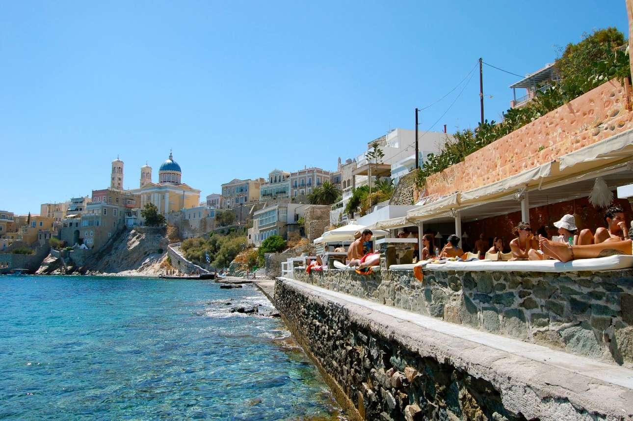 Asteria Beach Syros FB