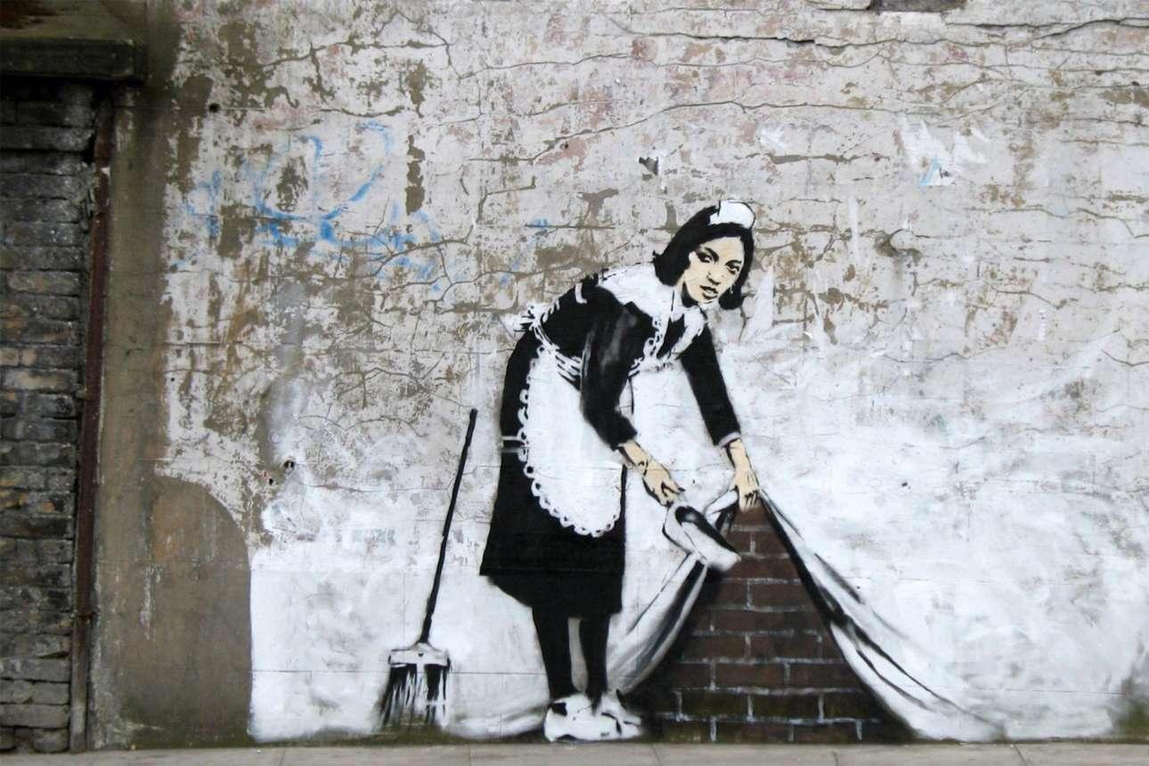 Από τα πιο διάσημα έργα του βρετανού καλλιτέχνη Μπάνκσι