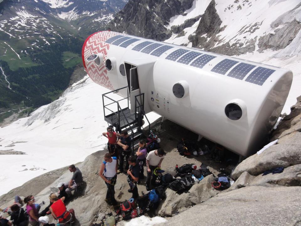 Bivacco Gervasutti-mont Blanc-B