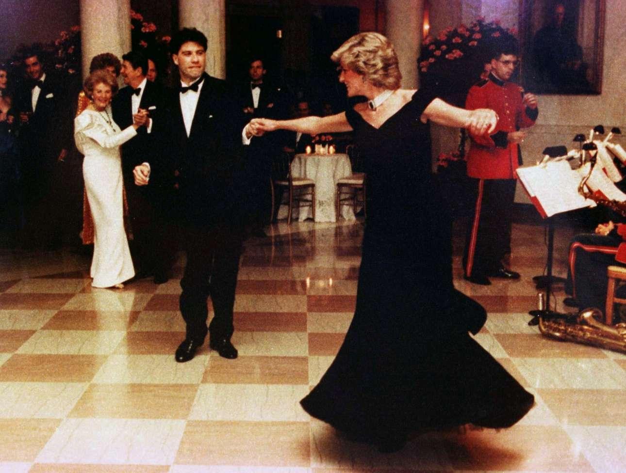 DIANA-Travolta-White House-reuters