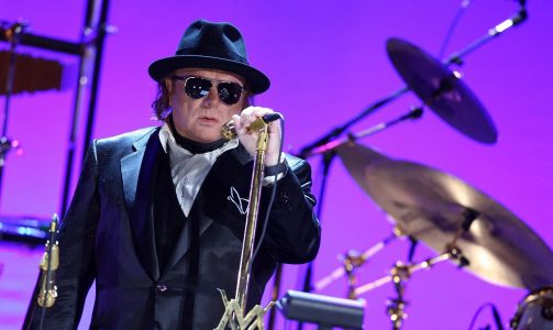 NEW YORK - FEBRUARY 27: Singer/songwriter Van Morrison performs to a sold out crowd at the WaMu Theater at Madison Square Garden on February 27, 2009 in New York City. (Photo by Stephen Lovekin/Getty Images for Listen To The Lion)