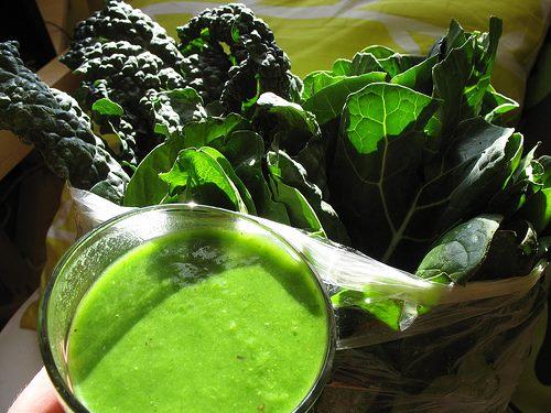 detox green smoothie Healthy Organics