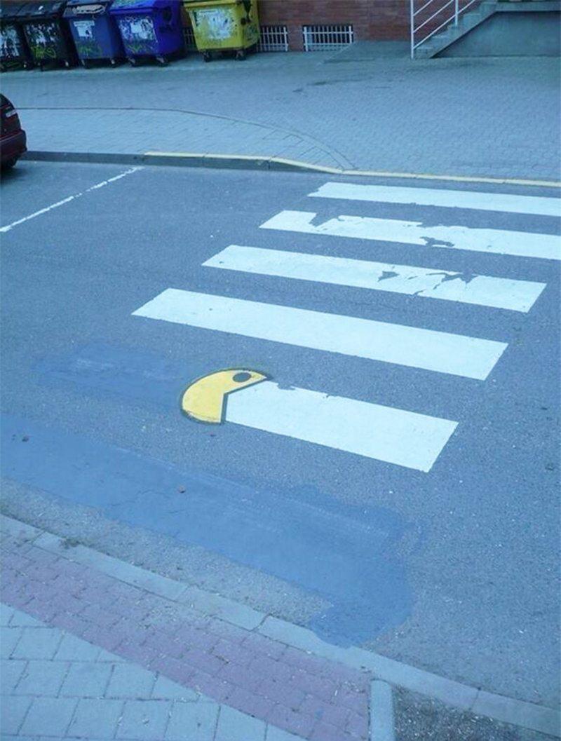 Pac-Man και στις διαβάσεις