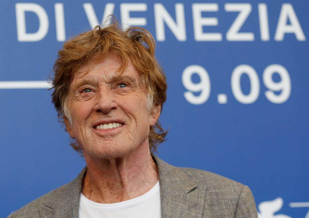 Ο Ρόμπερτ Ρέντφορντ έκλεισε πρόσφατα τα 81 του χρόνια. Mετρά 78 ταινίες ως ηθοποιός και επιστρέφει στη Βενετία πέντε χρόνια μετά τον θρίαμβό του στη Μόστρα το 2012 για το «The Company you Keep»