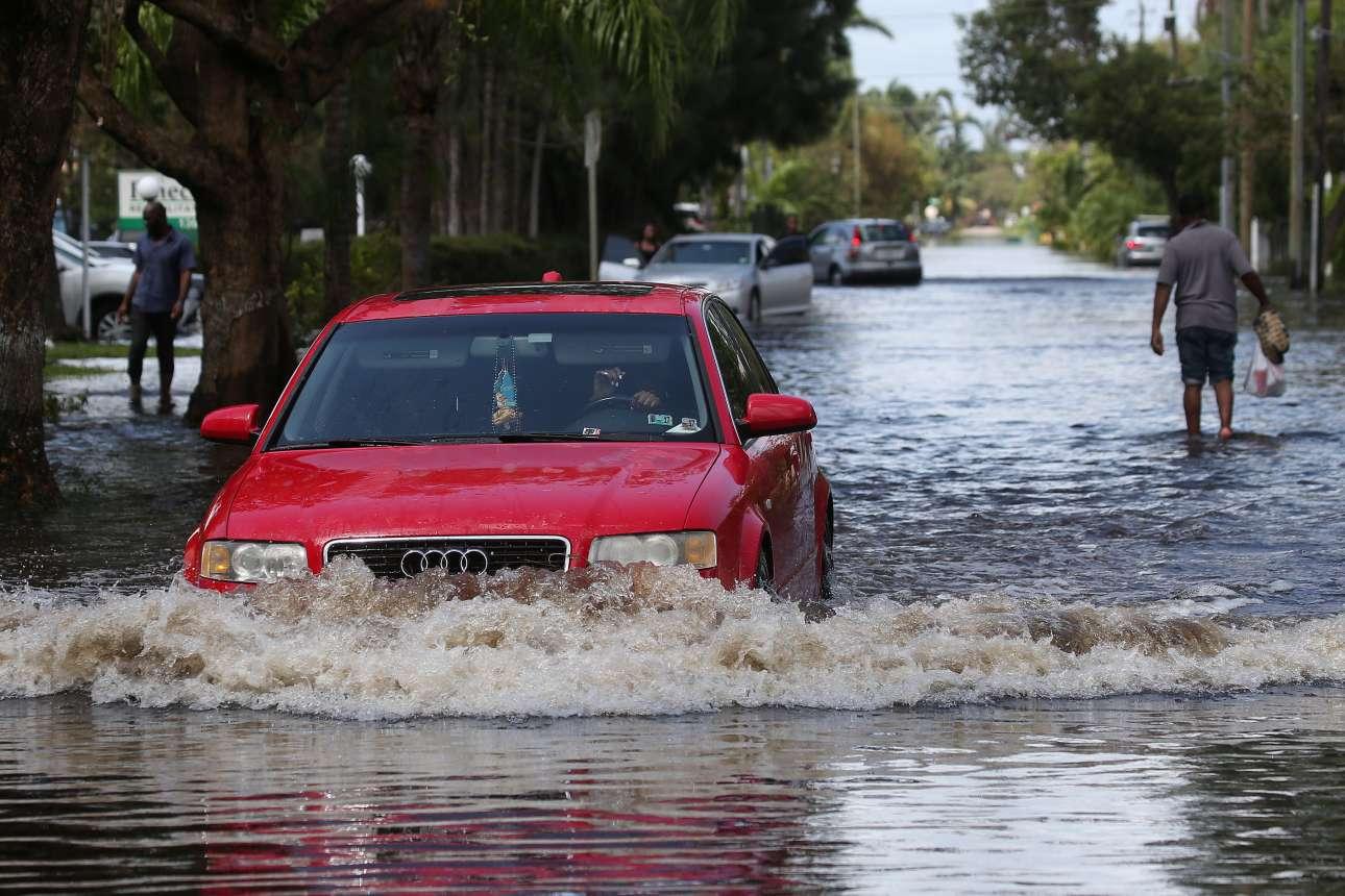 Ισως η βάρκα θα ήταν καλύτερο μέσο μετακίνησης στο βόρειο Μαϊάμι