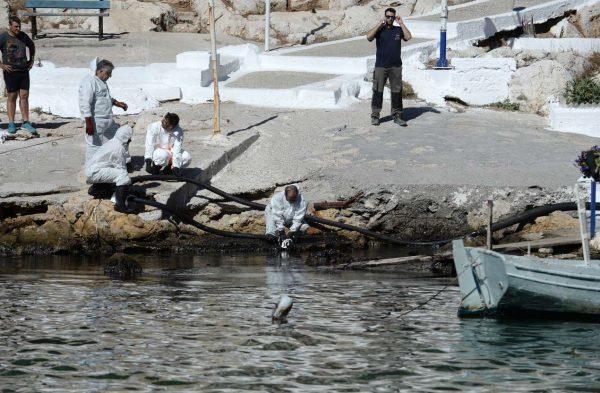 Από τον καθαρισμό στα βράχια της Πειραϊκής / INTIMEnews