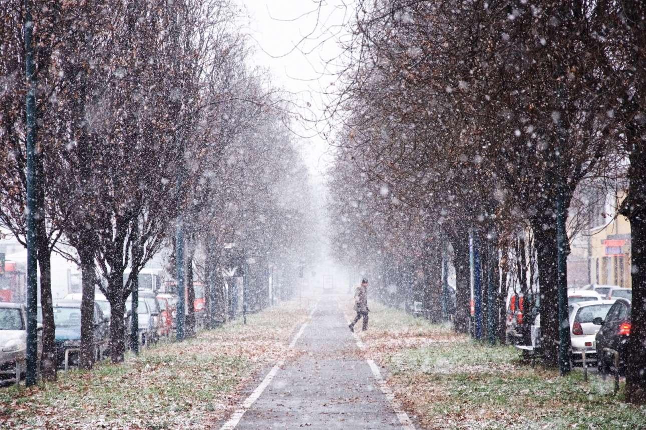 Επιλαχών, κατηγορία «16 ετών και κάτω».  Μία πανέμορφη, παγωμένη μέρα του χειμώνα, στο Τορίνο της Ιταλίας