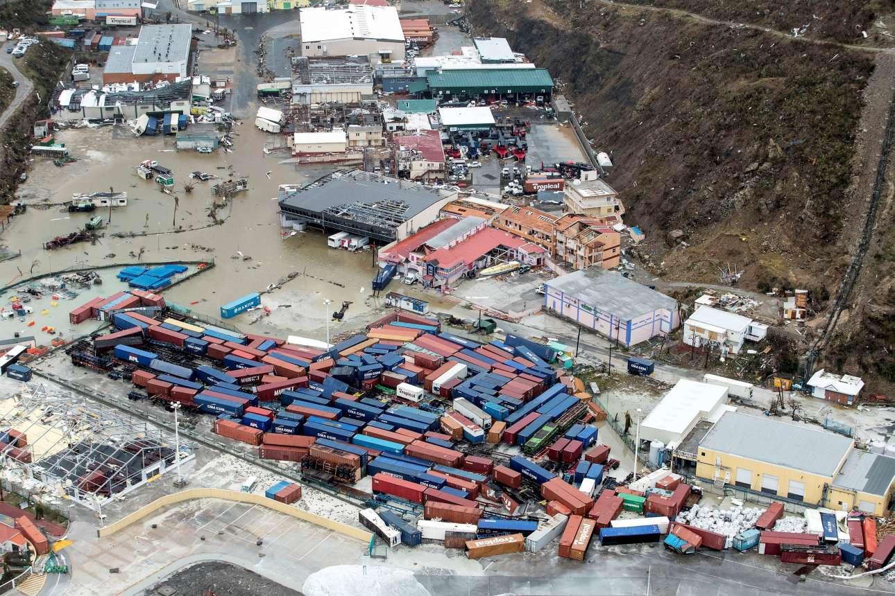 Η οικονομική καταστροφή στο νησί του Αγίου Μαρτίνου είναι ανεπανάληπτη...