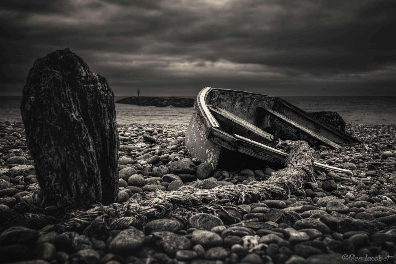 «Η παλίρροια που ποτέ δεν ήρθε», ο τίτλος της φωτογραφίας που κέρδισε το πρώτο βραβείο στην κατηγορία «Πλοία και ναυάγια»