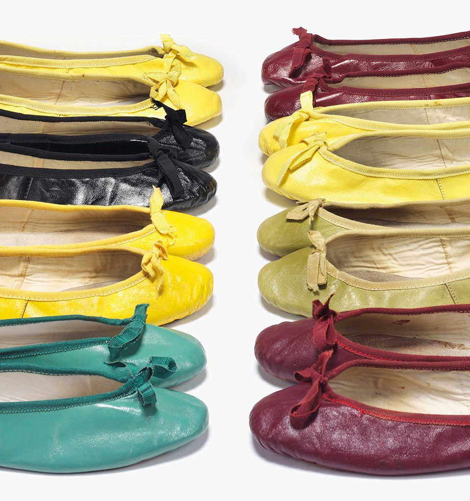 audrey-hepburn-ballet-pumps-in-a-rainbow-of-colours