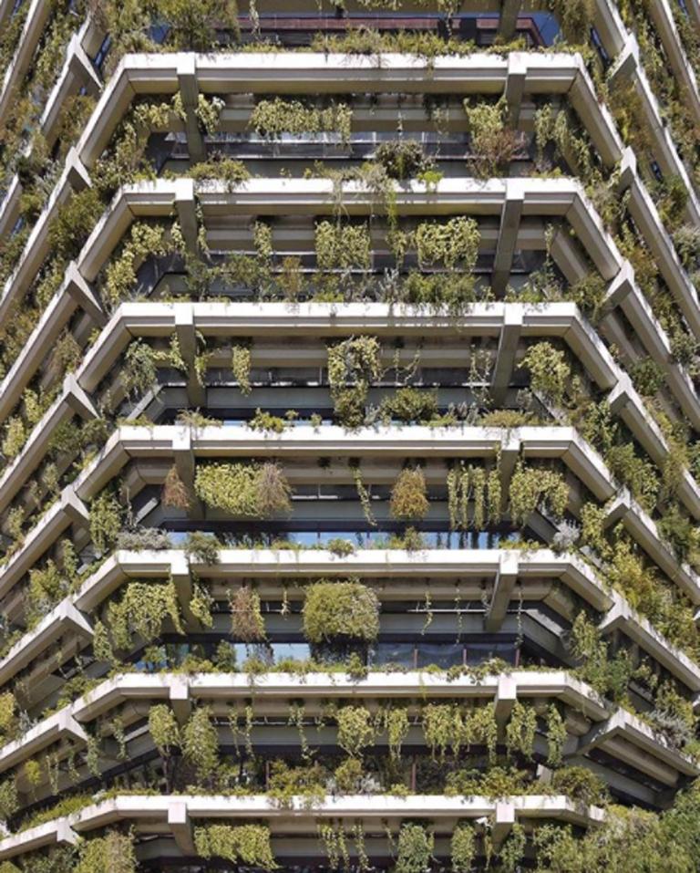 «Πράσινα» μπαλκόνια στη γειτονιά Les Corts