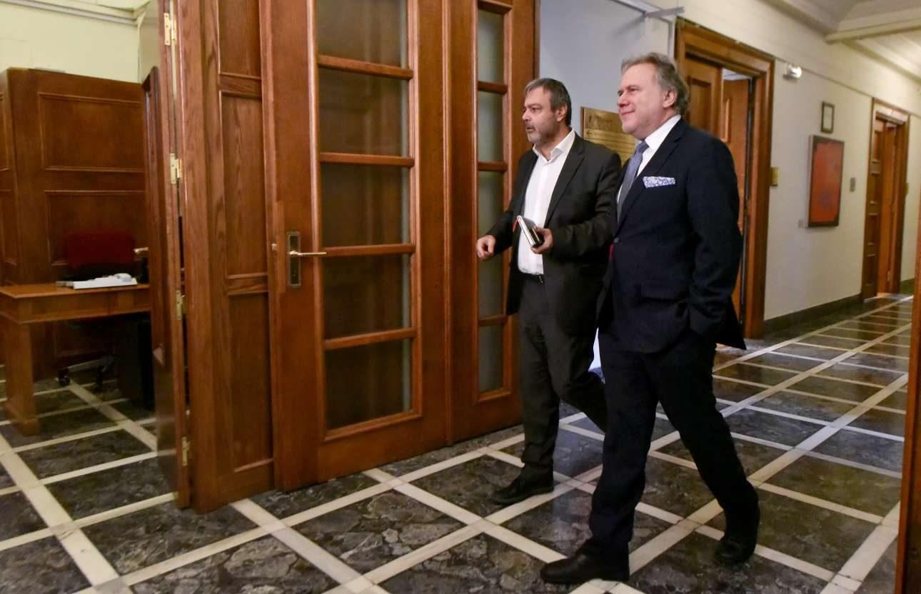Χριστόφορος Βερναρδάκης και Γιώργος Κατρούγκαλος. Αλλα δύο πρόσωπα που θα έπρεπε να εμπλακούν με τις αναγκαίες αλλαγές στο Δημόσιο αλλά δεν... / INTIMEnews