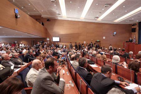 (Ξένη δημοσίευση)  Ο πρόεδρος της Νέας Δημοκρατίας Κυριάκος Μητσοτάκης μιλάει στην εκδήλωση που συνδιοργάνωσαν το Ινστιτούτο Δημοκρατίας «Κωνσταντίνος Καραμανλής» και το Ίδρυμα «Konrad Adenauer» με θέμα: «Οι βέλτιστες ευρωπαϊκές πρακτικές, οδηγός για το μέλλον της Ελλάδας», την Πέμπτη 8 Σεπτεμβρίου 2016, στο Εμπορικό και Βιομηχανικό Επιμελητήριο Αθηνών (EBEA).  ΑΠΕ-ΜΠΕ/ΓΡΑΦΕΙΟ ΤΥΠΟΥ ΝΔ/ΔΗΜΗΤΡΗΣ  ΠΑΠΑΜΗΤΣΟΣ