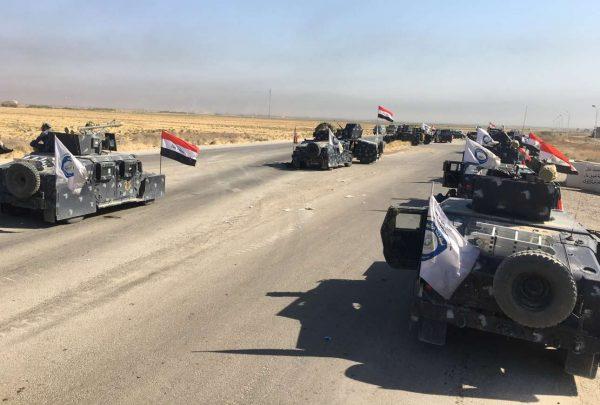 Δυνάμεις του ιρακινού ομοσπονδιακού στρατού στις πετρελαιοπηγές του Κιρκούκ / Reuters