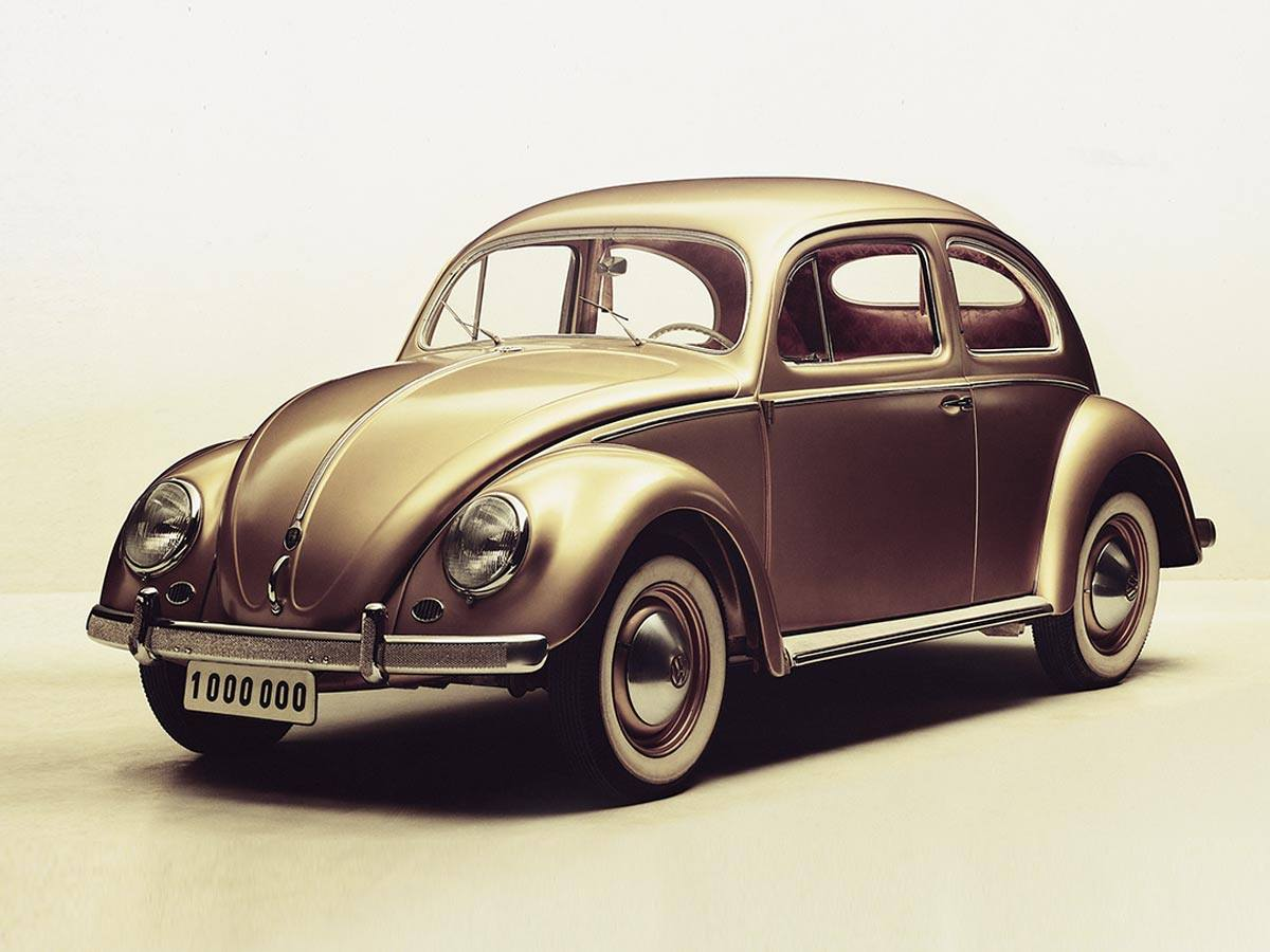 On the 5th August 1955 the one millionth bug rolled off the line